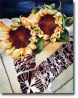 Sunflower and Cochita Lace